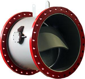 дисковый обратный клапан фланцевый